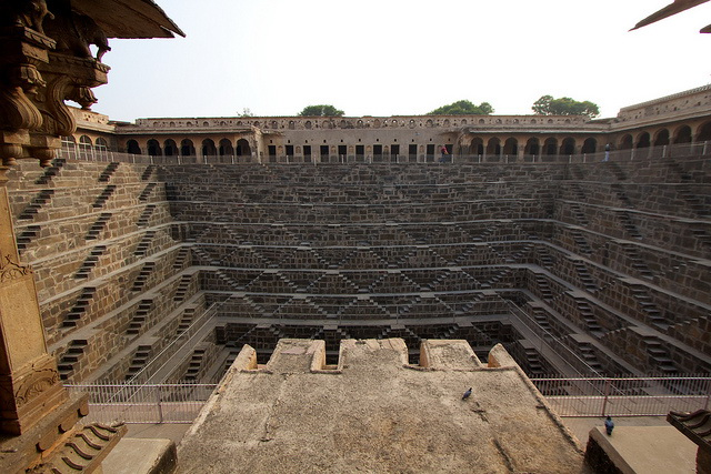Chand Baori frontal view