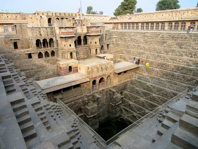 Chand Baori inside view