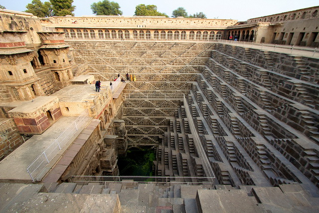 Chand Baori stairs